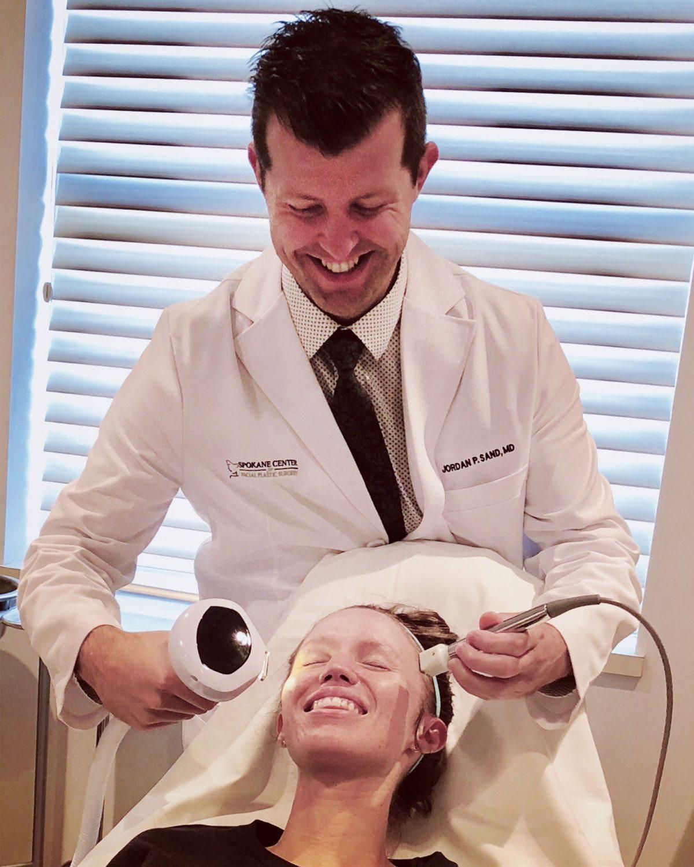 Vampire Facial and Intense Pulsed Light Treatments