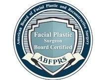American Board of Facial Plastic and Reconstructive Surgery logo